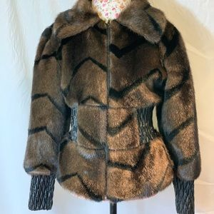 Guess Faux Fur jacket.